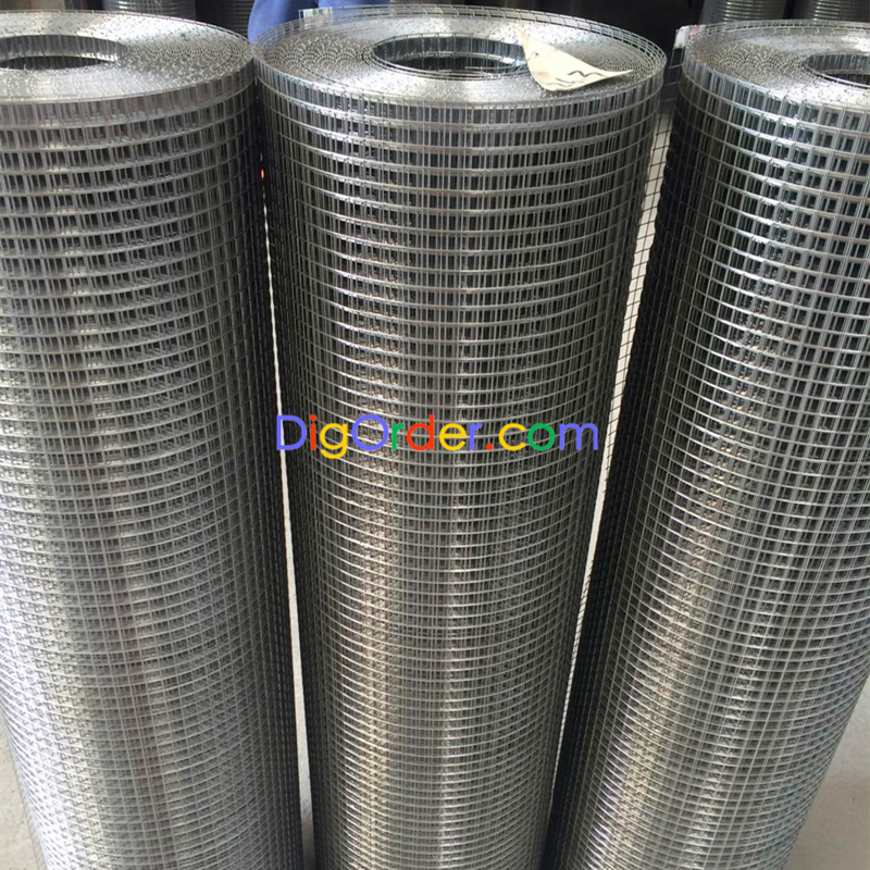 electro-galvanized welded wire mesh