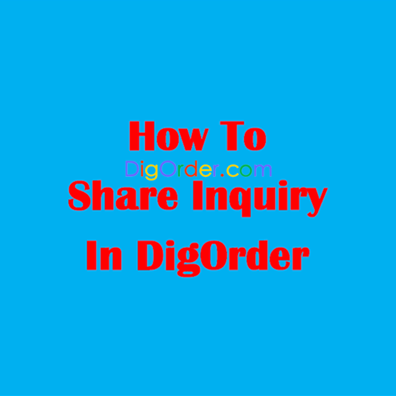 inquiry sharing service
