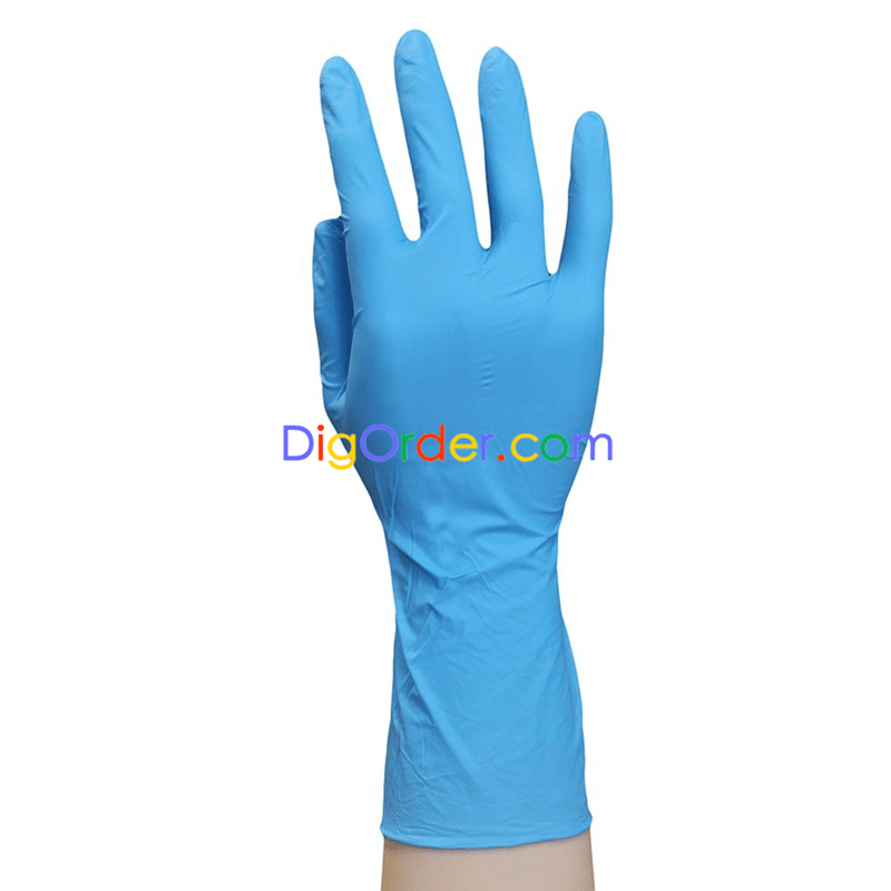 disposable nitrile exam gloves