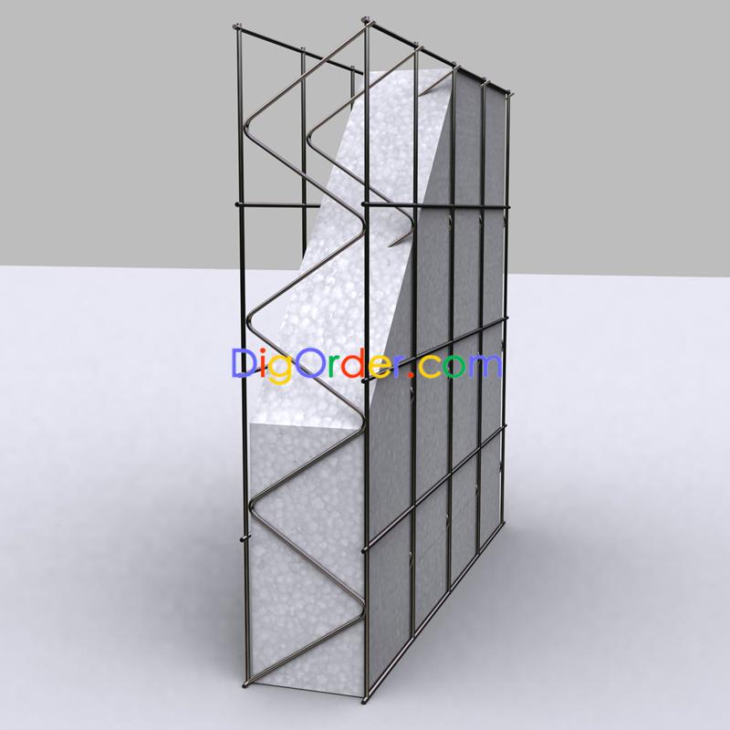 3d mesh panel